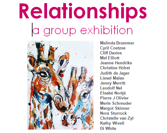 relationships exhibition poster