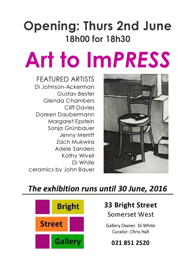 Art to ImPRESS Exhibition Poster