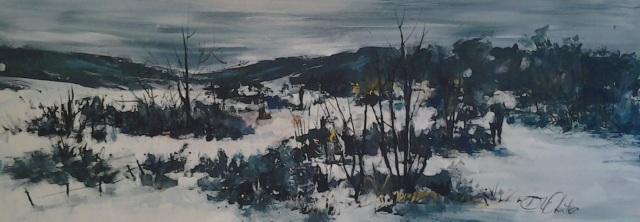 Cape Winter in Ceres II by Di White