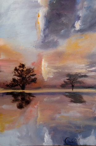 """Reflextions"" by Cornelie Wolf R"