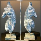 TORSO II - Blue by William Oliver