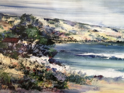 """East Coast"" by Diane White Acrylic on canvas, 600x900mm, R7500"