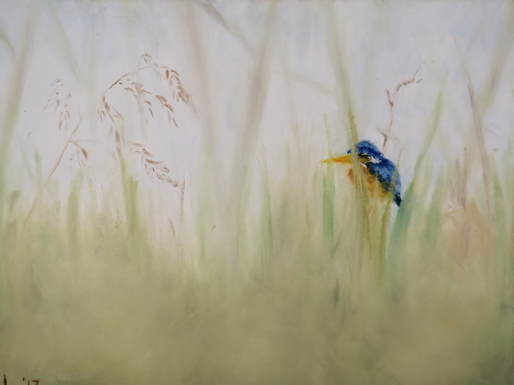 """""""Undisturbed Solitude"""" By Michelle Oosthuizen Oil on canvas, 350x250mm R1130.00"""