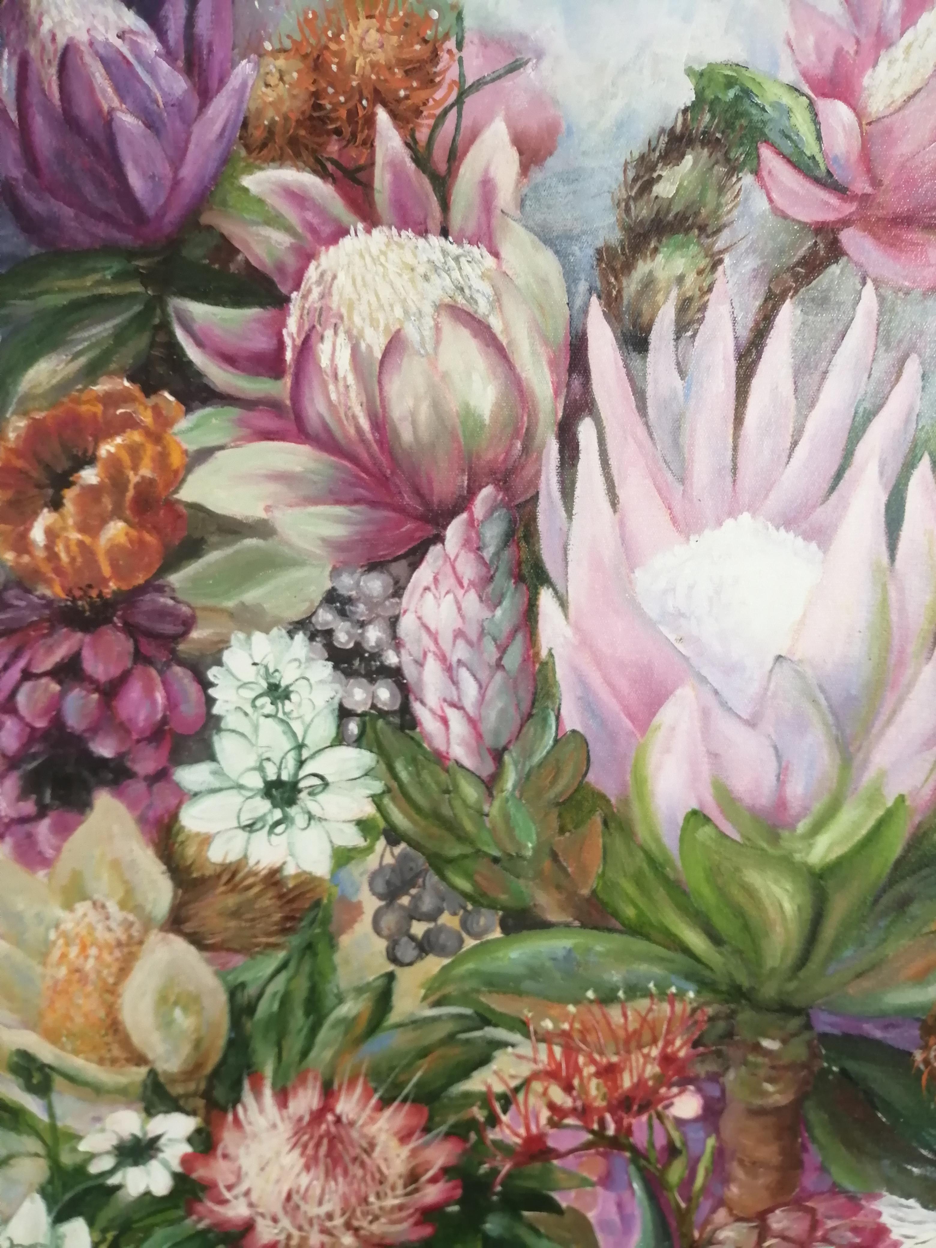 """ Protea Paradise"" by Belita Burger"