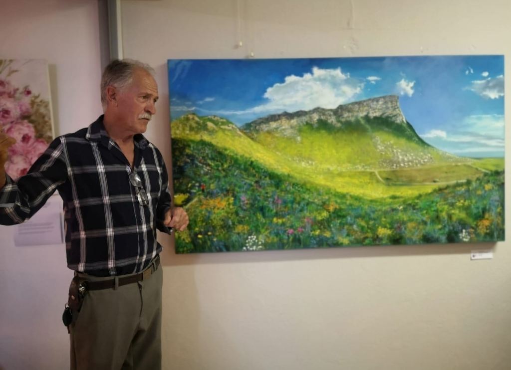 HANGKLIP, PRINGLE BAY, OIL ON CANVAS, 900X1600MM, NOW SELLING AT R11 250